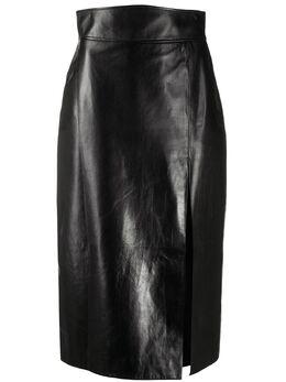 Gucci юбка-карандаш с завышенной талией 613294XNAIX