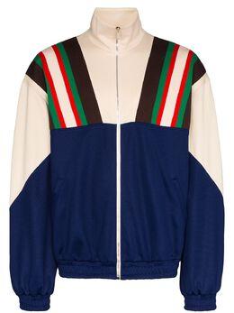 Gucci спортивная куртка с полосками 615164XJCFQ