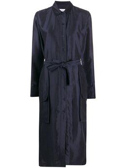 Soulland атласное платье-рубашка Maia W0110070MAIA