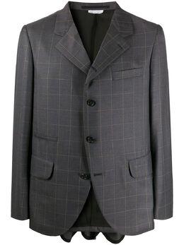 Comme Des Garcons Homme Plus клетчатый пиджак PEJ011