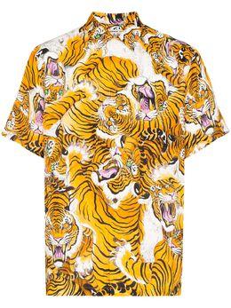 Wacko Maria рубашка с принтом TIMLEHIWMHI12