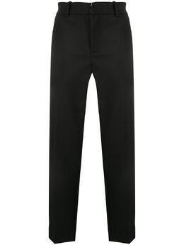 Soulland строгие брюки прямого кроя NICKOBLACK