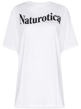 Christopher Kane футболка с принтом Naturotica PF20TS525