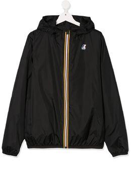 K Way Kids куртка на молнии с капюшоном K00BEI0