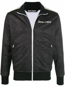 Palm Angels спортивная куртка с принтом PMBD001E20FAB0086401