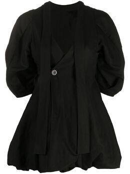 Enfold блузка с объемными рукавами 300DS1302160