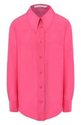 Рубашка из смеси хлопка и шелка Low Classic L0W20SS_SH08PK