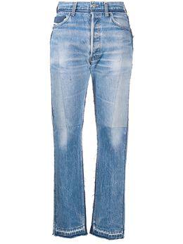 Diesel Red Tag джинсы прямого кроя в технике пэчворк 00SEWE