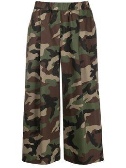 P.a.r.o.s.h. брюки с камуфляжным принтом CRAVD231007