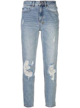 Ksubi джинсы скинни с эффектом потертости 5000004177