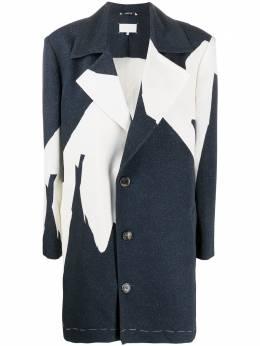 Maison Margiela пальто с абстрактным принтом S29AM0345S53064