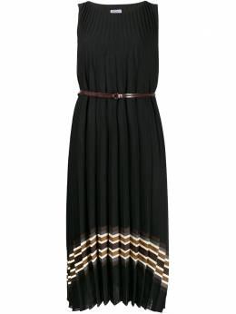 Brunello Cucinelli платье миди со складками MA087A4466C2803