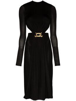 Dodo Bar Or платье миди с вырезами и открытой спиной DBO1234