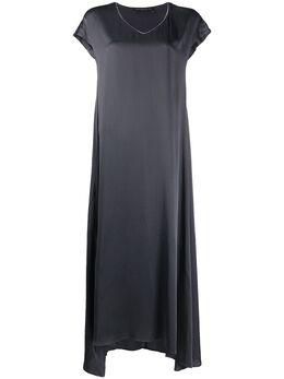 Fabiana Filippi платье макси с V-образным вырезом ABD260B9840000C024