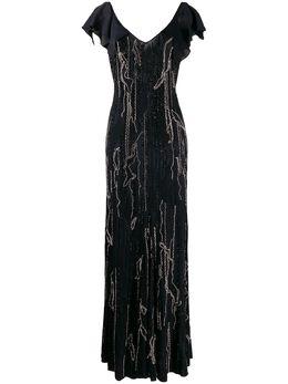 Amen декорированное вечернее платье AMW19512
