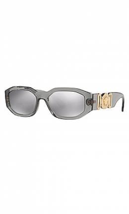 Солнцезащитные очки tribute oval - Versace 0VE4361 53 3116G