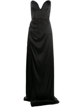 Giuseppe Di Morabito платье с драпировкой 046LD64