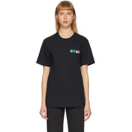 Noah Nyc Black More Core T-Shirt T7SS20BLK