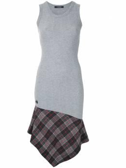 A La Garconne платье асимметричного кроя со вставками 219068