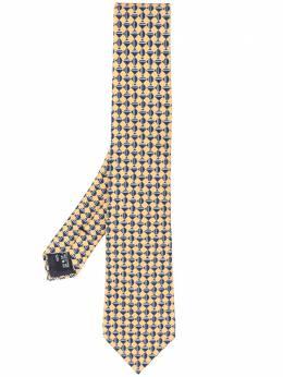 Giorgio Armani галстук с геометричным принтом 3600540A801