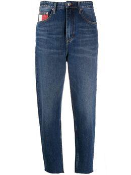 Tommy Jeans зауженные джинсы с завышенной талией DW0DW07680