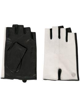 Karl Lagerfeld перчатки-митенки K/Logo 205W3605100