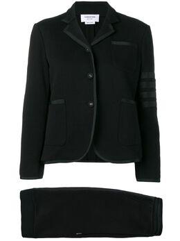Thom Browne костюм из джерси с полосками 4-Bar FSJ001A00535