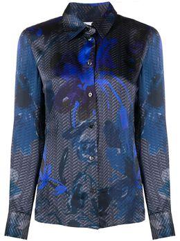 Giorgio Armani Pre-Owned блузка 2000-х годов с принтом ARMG250