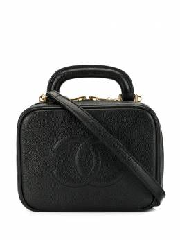 Chanel Pre-Owned косметичка 1997-го года с логотипом CC 4652481