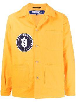 Junya Watanabe Man куртка-рубашка с логотипом WEJ402S20