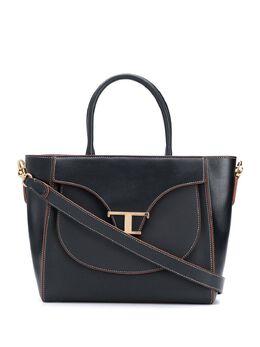 Tod's сумка-тоут с металлическим логотипом XBWTSIA0200O01B999