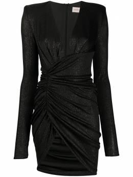 Alexandre Vauthier платье мини с V-образным вырезом 201DR124702011206