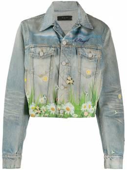 Amiri джинсовая куртка с принтом Y0W04381DE