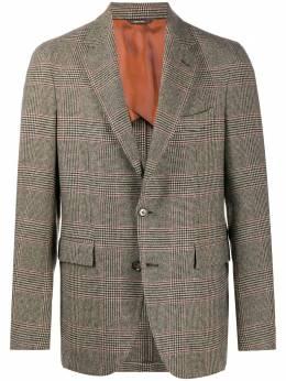 Loro Piana кашемировый пиджак в клетку FAI7719