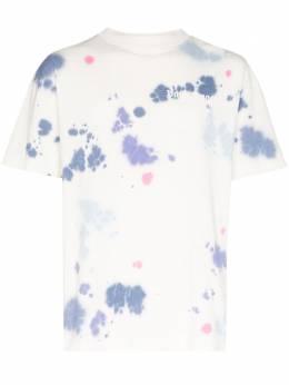 Palm Angels футболка с принтом тай-дай PMAA001E20JER0140184