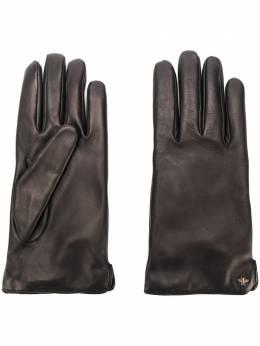 Gucci перчатки с металлической деталью 524061BAP00