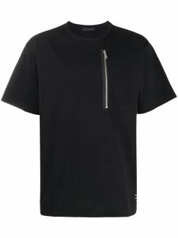 Undercover футболка с карманом на молнии UCY4804