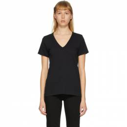 Rag&Bone Black The Vee T-Shirt W272C34CH-BLK