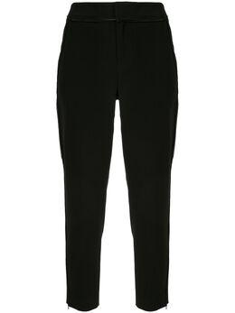 Portspure декорированные зауженные брюки RL8P056LWQ011JETBLACK
