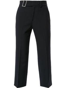 Portspure укороченные брюки с пряжкой RL8P055LWQ014NIGHTSKY