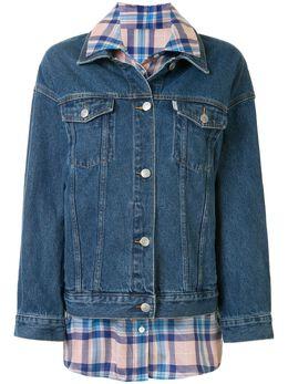 Portspure джинсовая куртка со вставкой RL8J006LZC003INDIGODENIM
