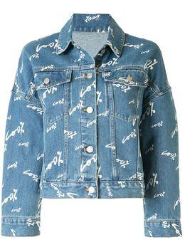 Portspure джинсовая куртка с принтом RL8J003LZC001PRINTEDDENIM