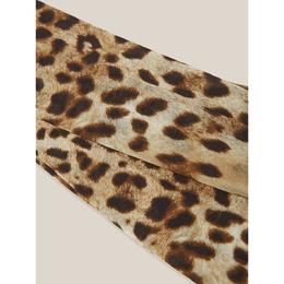 Dolce&Gabbana Animal Leopard-Print Mesh Tights M 288217