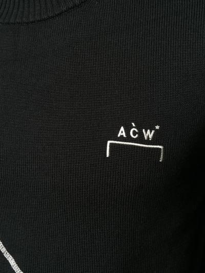 A-Cold-Wall* джемпер с логотипом ACWAW19KC01 - 5