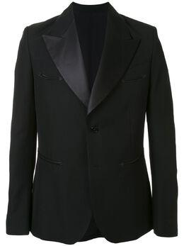 Sankuanz пиджак с контрастными лацканами SKZM20SS0BL0201