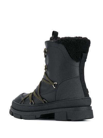 Dsquared2 ботинки в стиле милитари на шнуровке SBM000725100001 - 3