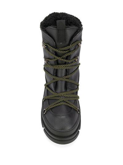 Dsquared2 ботинки в стиле милитари на шнуровке SBM000725100001 - 4