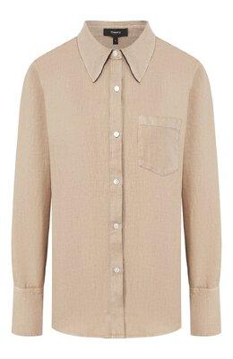 Льняная рубашка Theory K0403501