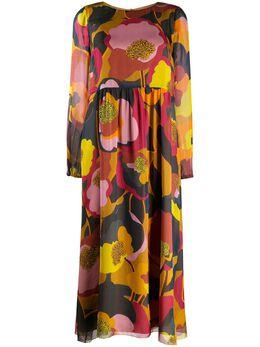 Luisa Cerano платье прямого кроя с цветочным принтом 7181462445