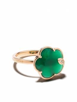 Pasquale Bruni золотое кольцо Petit Jolie с бриллиантами и агатами 16125R